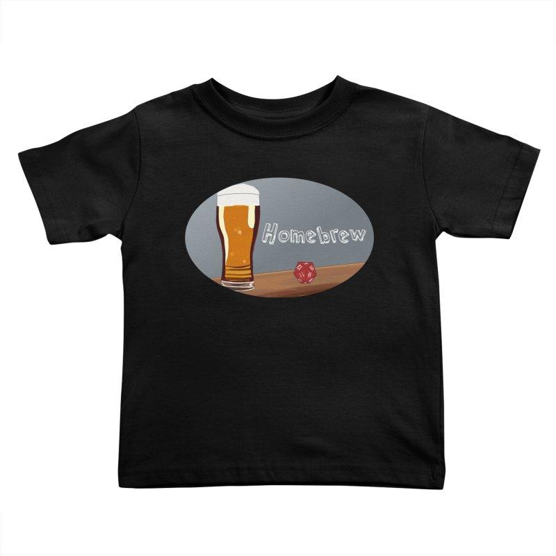 Homebrew Logo Kids Toddler T-Shirt by Slightly Animated Merch