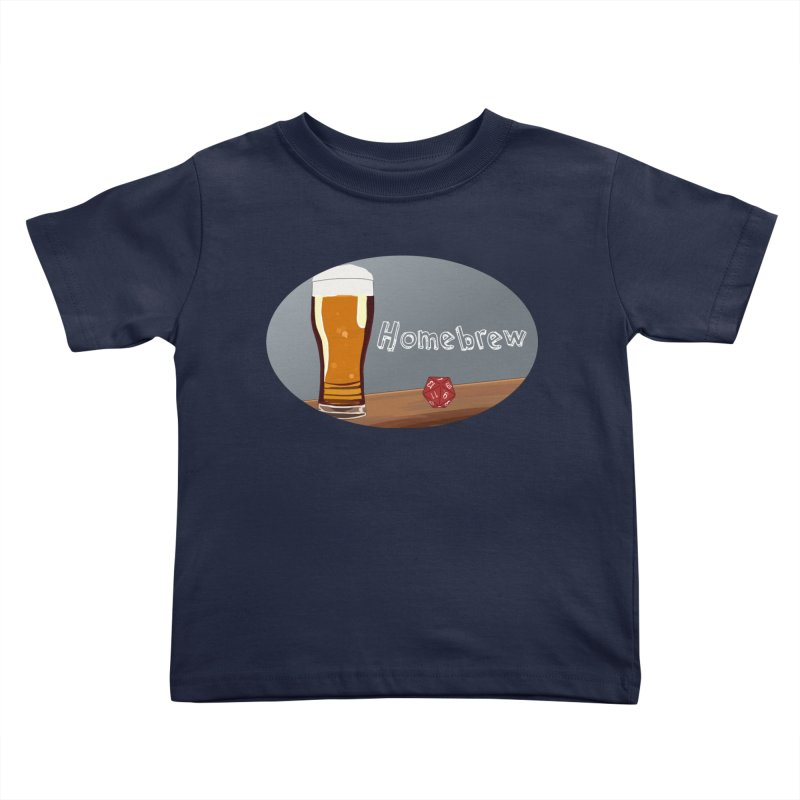 Homebrew Logo Kids Toddler T-Shirt by Slightly Animated Merch