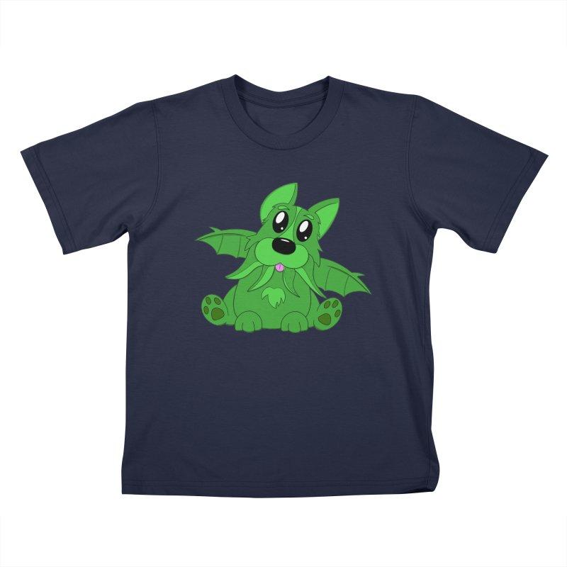 Corg'thulhu Kids T-Shirt by Slightly Animated