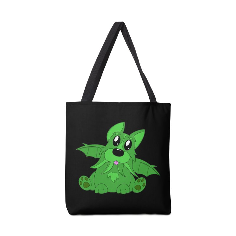 Corg'thulhu Accessories Tote Bag Bag by Slightly Animated Merch