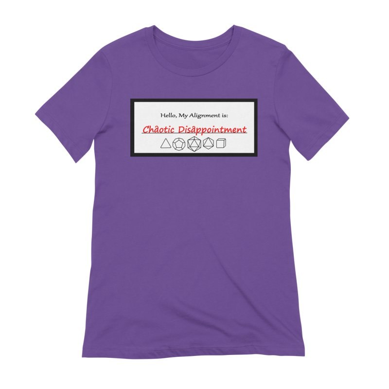 Alignment CD Women's Extra Soft T-Shirt by Slightly Animated Merch