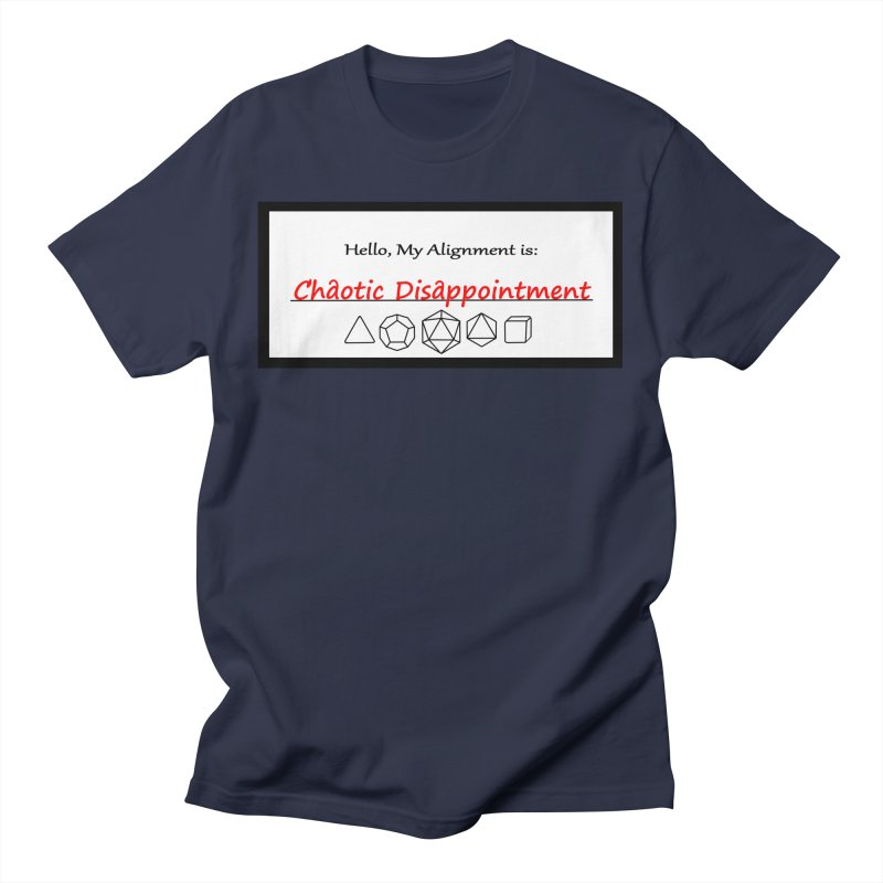 Alignment CD Men's T-Shirt by Slightly Animated