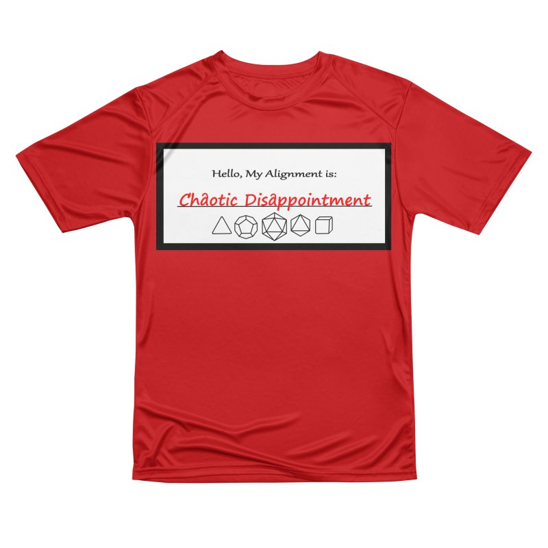 Alignment CD Women's Performance Unisex T-Shirt by Slightly Animated Merch