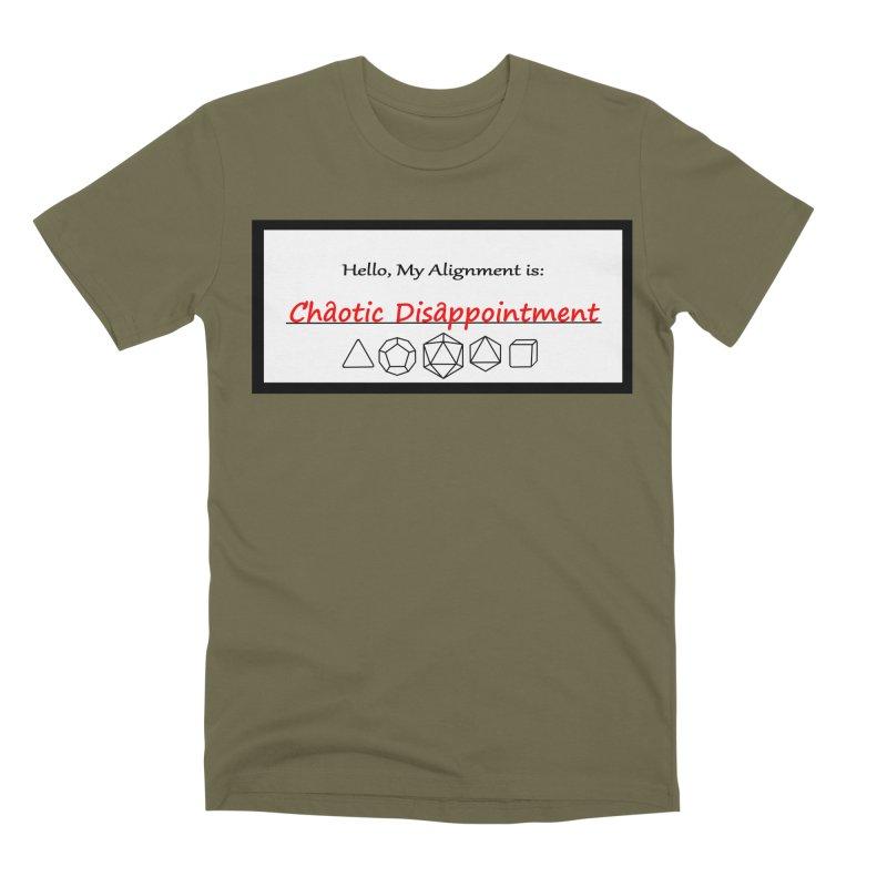Alignment CD Men's Premium T-Shirt by Slightly Animated Merch