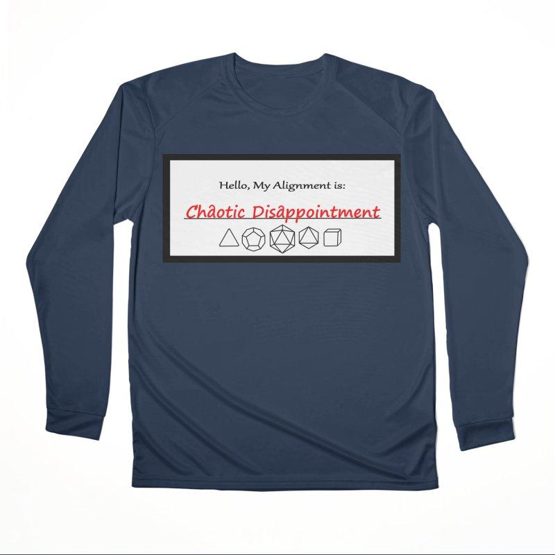Alignment CD Men's Performance Longsleeve T-Shirt by Slightly Animated Merch