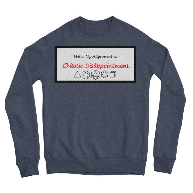 Alignment CD Men's Sponge Fleece Sweatshirt by Slightly Animated Merch