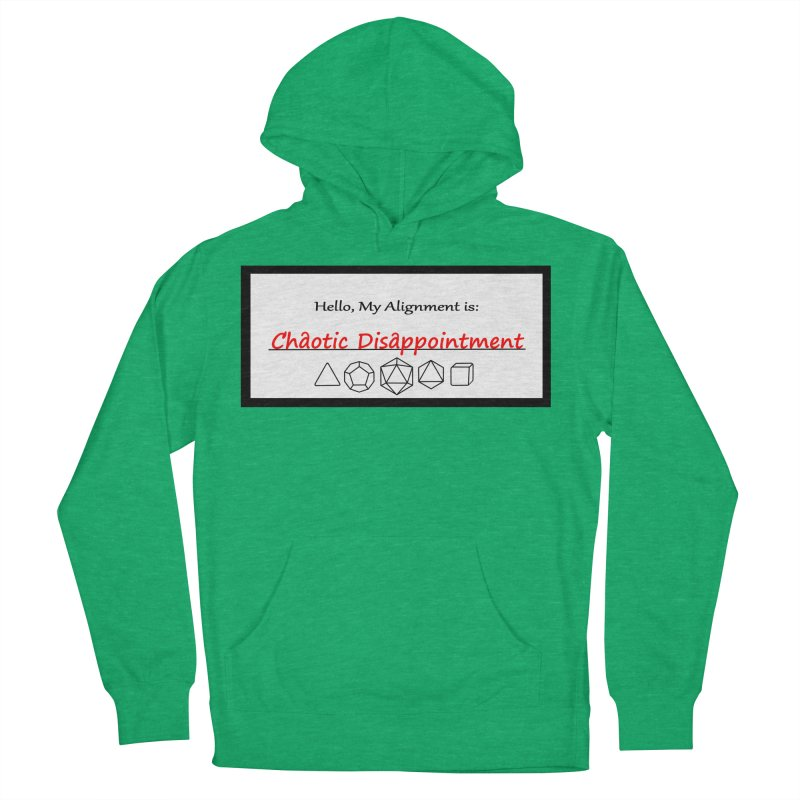 Alignment CD Women's French Terry Pullover Hoody by Slightly Animated Merch