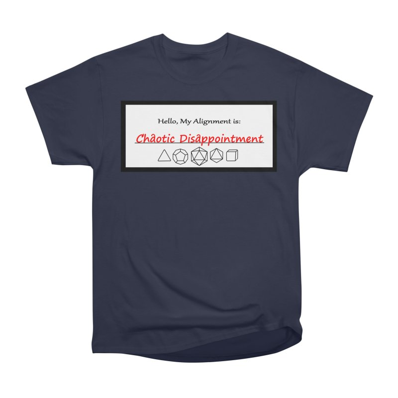 Alignment CD Men's Heavyweight T-Shirt by Slightly Animated Merch