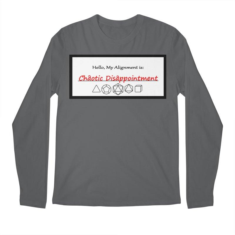 Alignment CD Men's Longsleeve T-Shirt by Slightly Animated