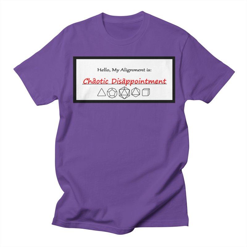 Alignment CD Men's Regular T-Shirt by Slightly Animated Merch