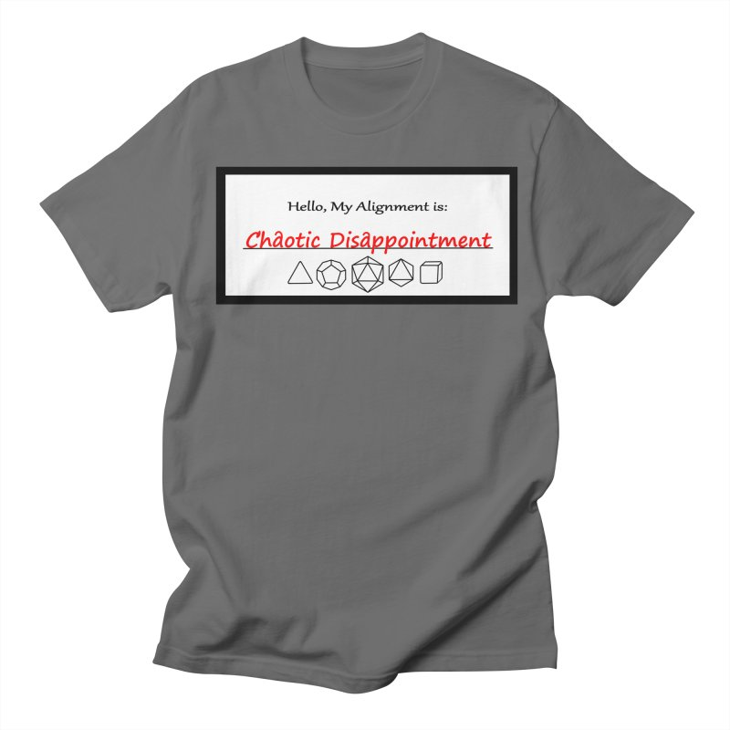 Alignment CD Men's T-Shirt by Slightly Animated Merch