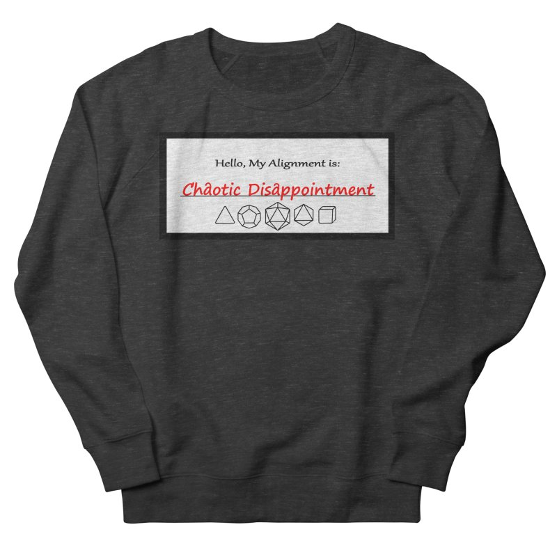Alignment CD Women's French Terry Sweatshirt by Slightly Animated Merch