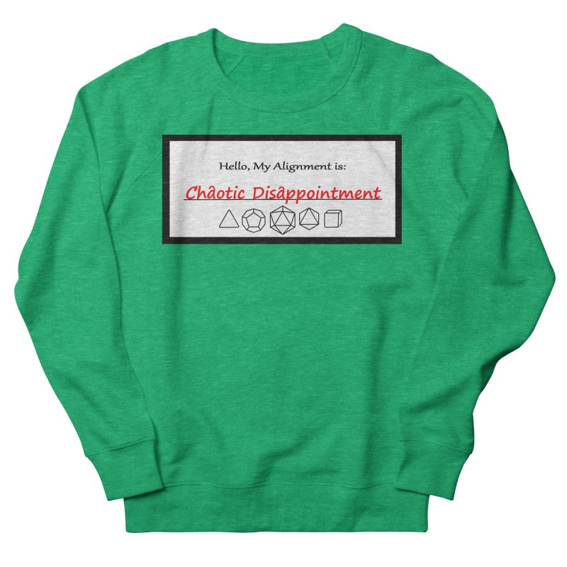 Alignment CD Men's French Terry Sweatshirt by Slightly Animated Merch