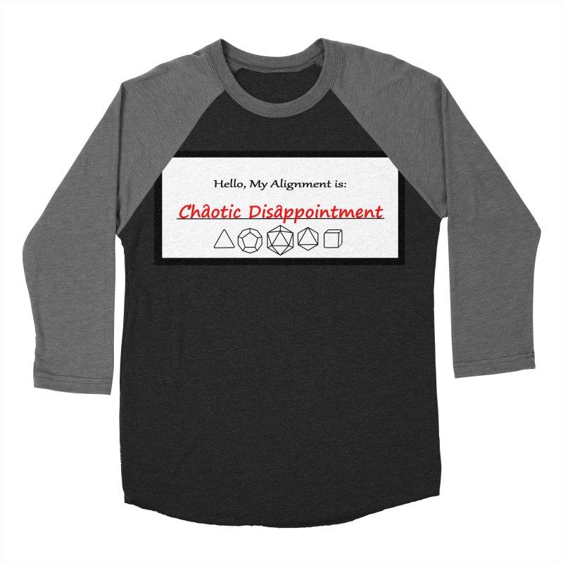 Alignment CD Women's Baseball Triblend Longsleeve T-Shirt by Slightly Animated Merch