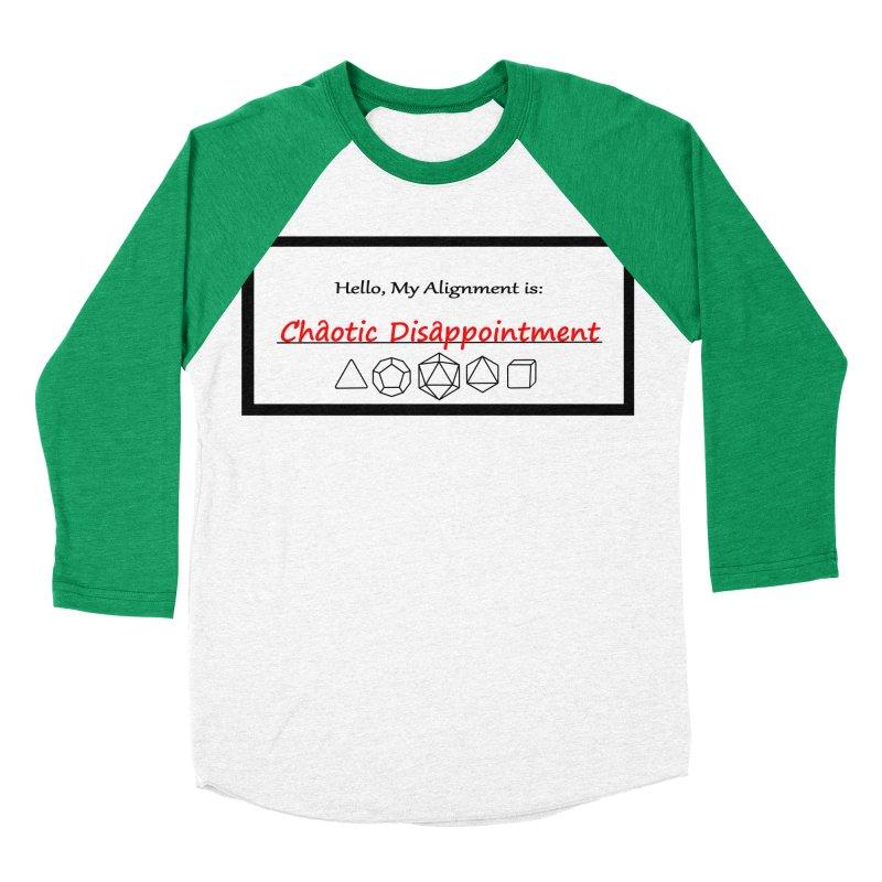 Alignment CD Men's Baseball Triblend Longsleeve T-Shirt by Slightly Animated Merch