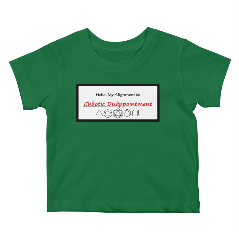 Alignment CD Kids Baby T-Shirt by Slightly Animated Merch