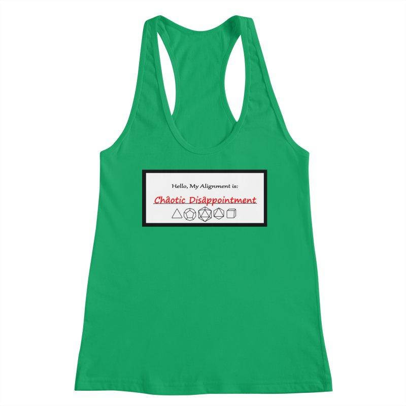 Alignment CD Women's Tank by Slightly Animated