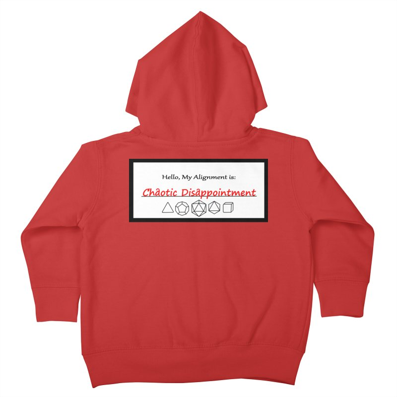 Alignment CD Kids Toddler Zip-Up Hoody by Slightly Animated Merch