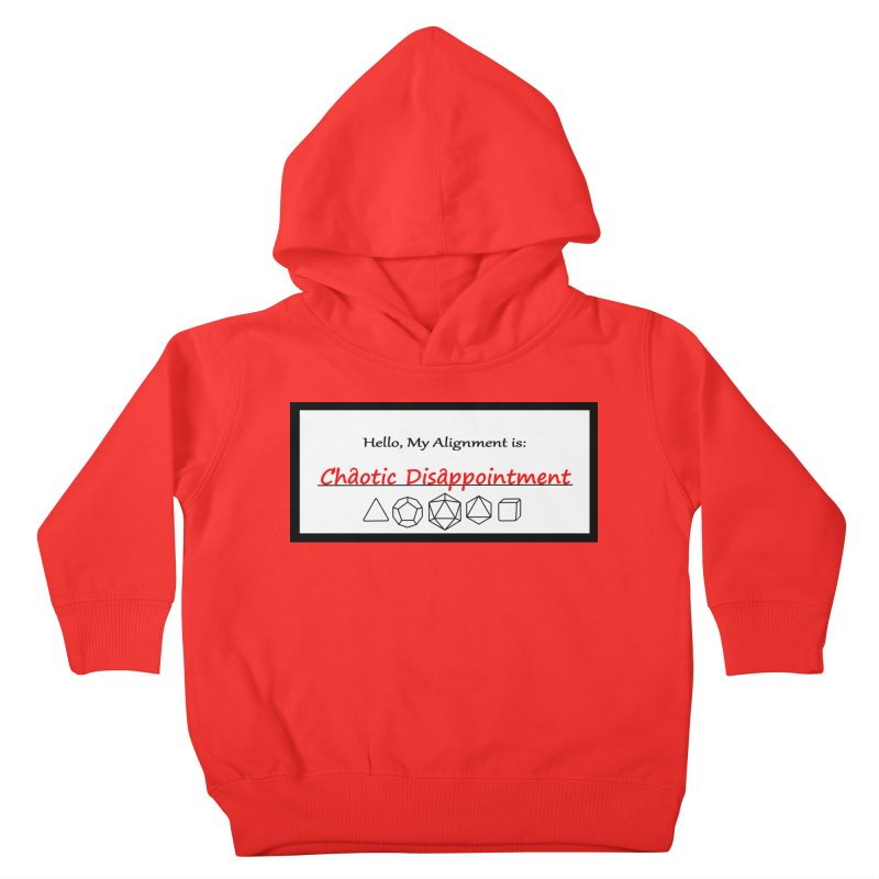 Alignment CD Kids Toddler Pullover Hoody by Slightly Animated Merch