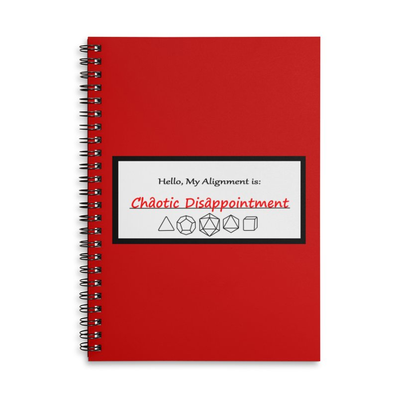 Alignment CD Accessories Notebook by Slightly Animated Merch