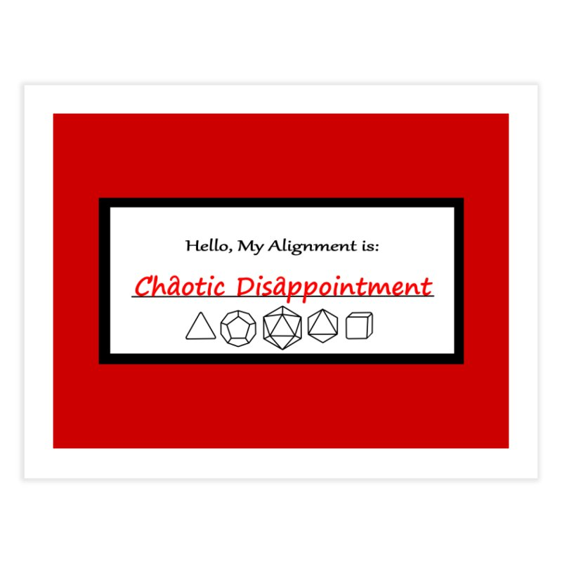 Alignment CD Home Fine Art Print by Slightly Animated Merch