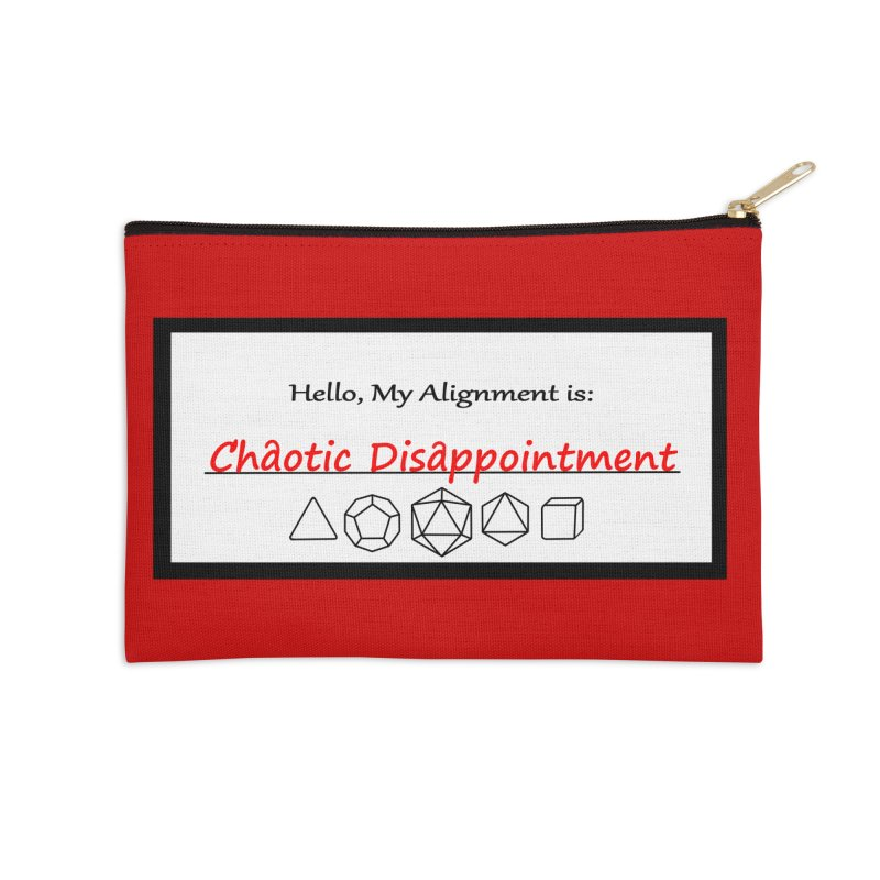 Alignment CD Accessories Zip Pouch by Slightly Animated Merch