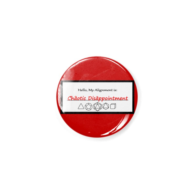 Alignment CD Accessories Button by Slightly Animated Merch