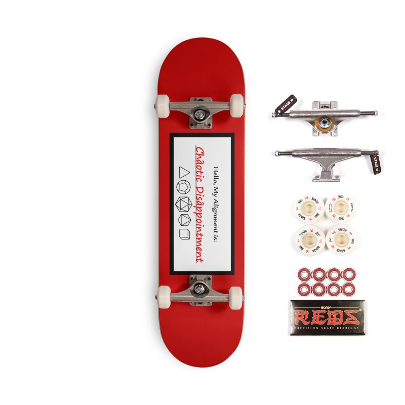Alignment CD Accessories Complete - Pro Skateboard by Slightly Animated Merch