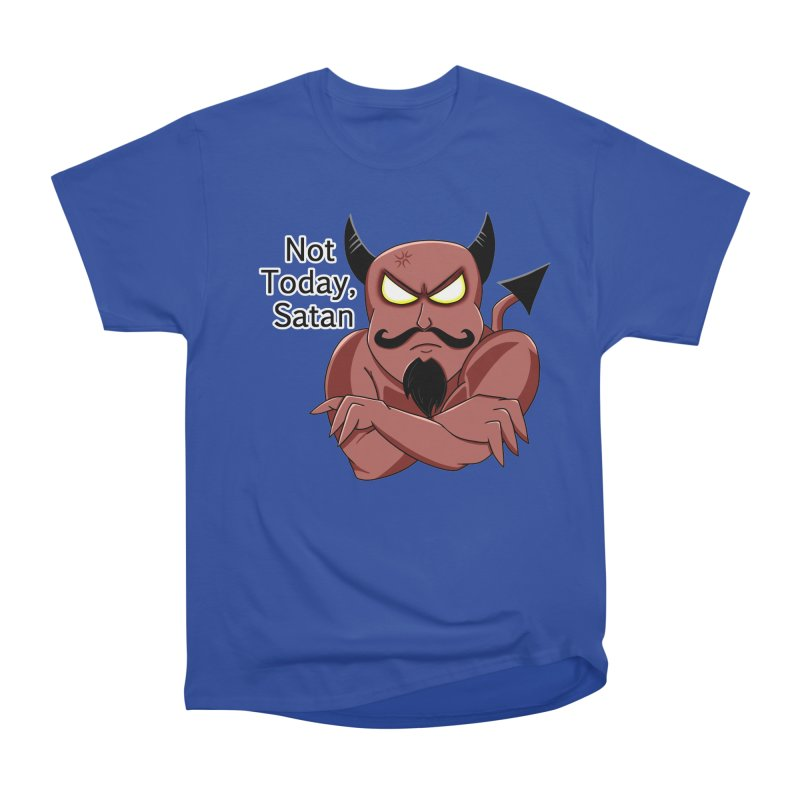 Not Today, Satan Men's T-Shirt by Slightly Animated Merch