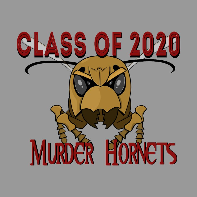 Class of 2020 - Go Hornets! Men's T-Shirt by Slightly Animated Merch
