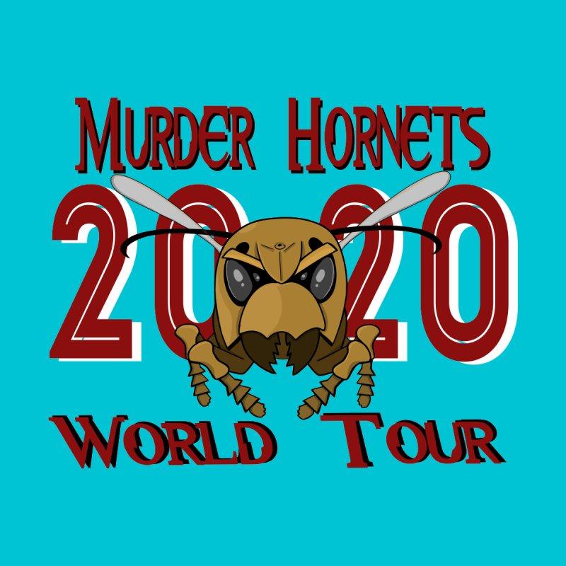 Murder Hornets World Tour Men's T-Shirt by Slightly Animated Merch