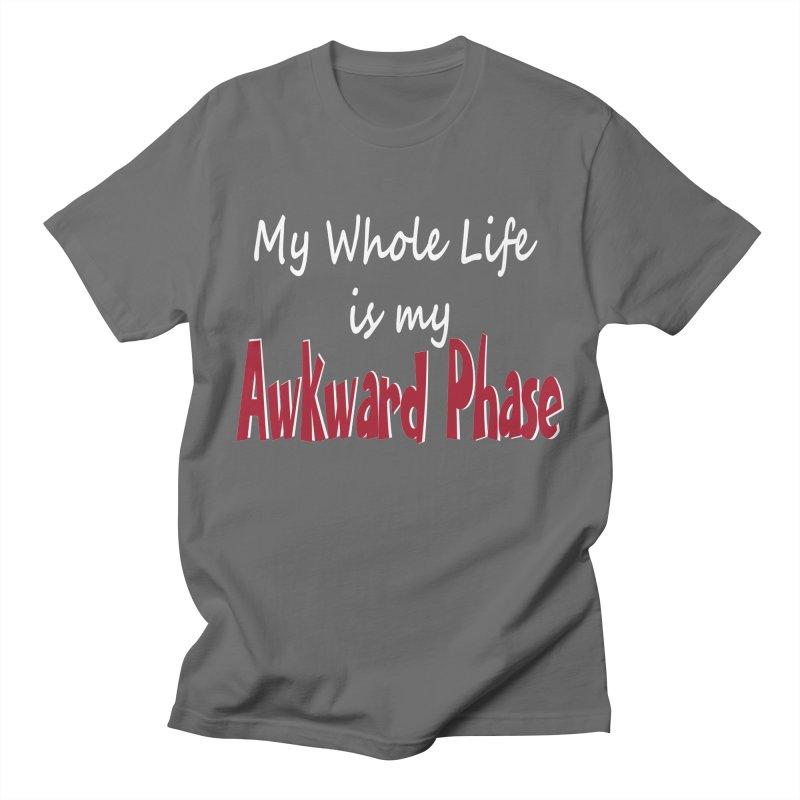 Awkward Phase Men's T-Shirt by Slightly Animated