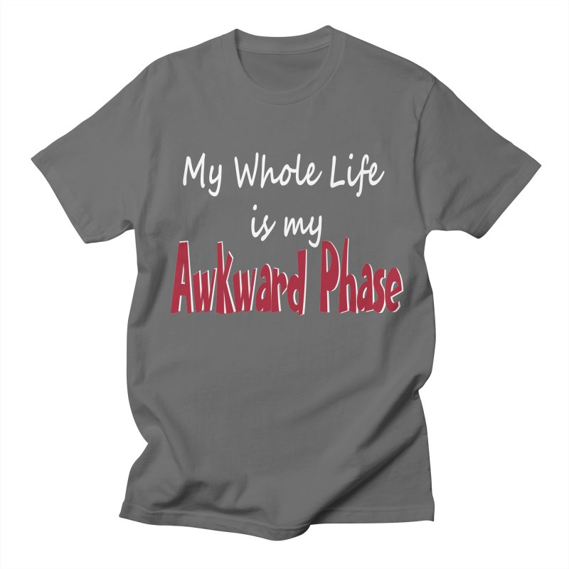 Awkward Phase Men's T-Shirt by Slightly Animated Merch