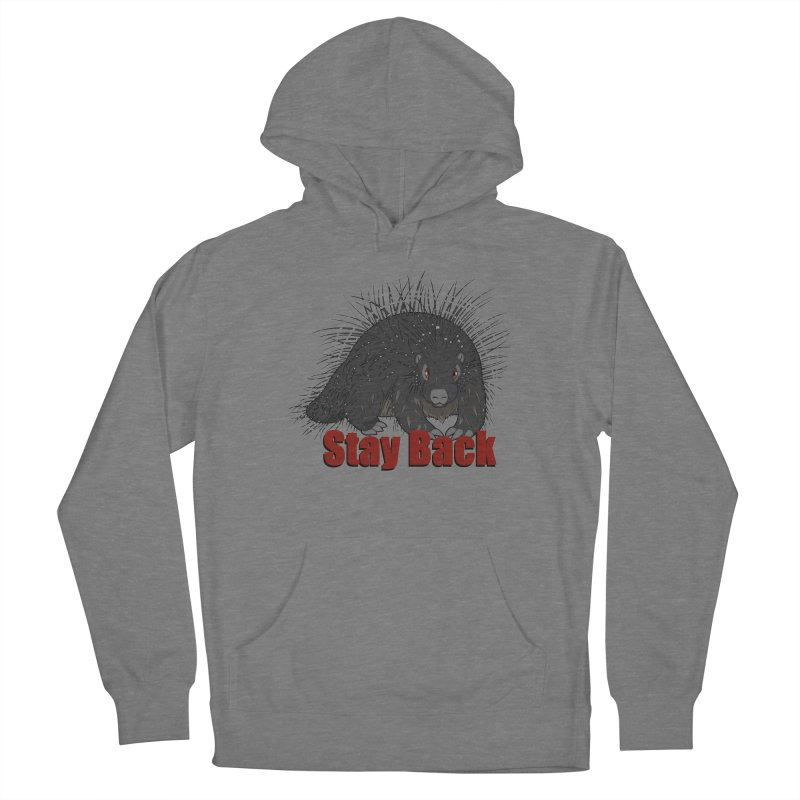Social Distancing Porcupine Women's Pullover Hoody by Slightly Animated