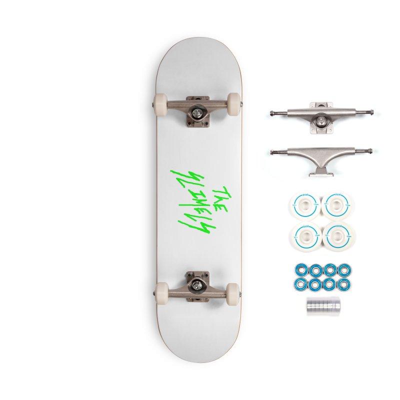 Pathetically Intense Accessories Skateboard by SlimeLine