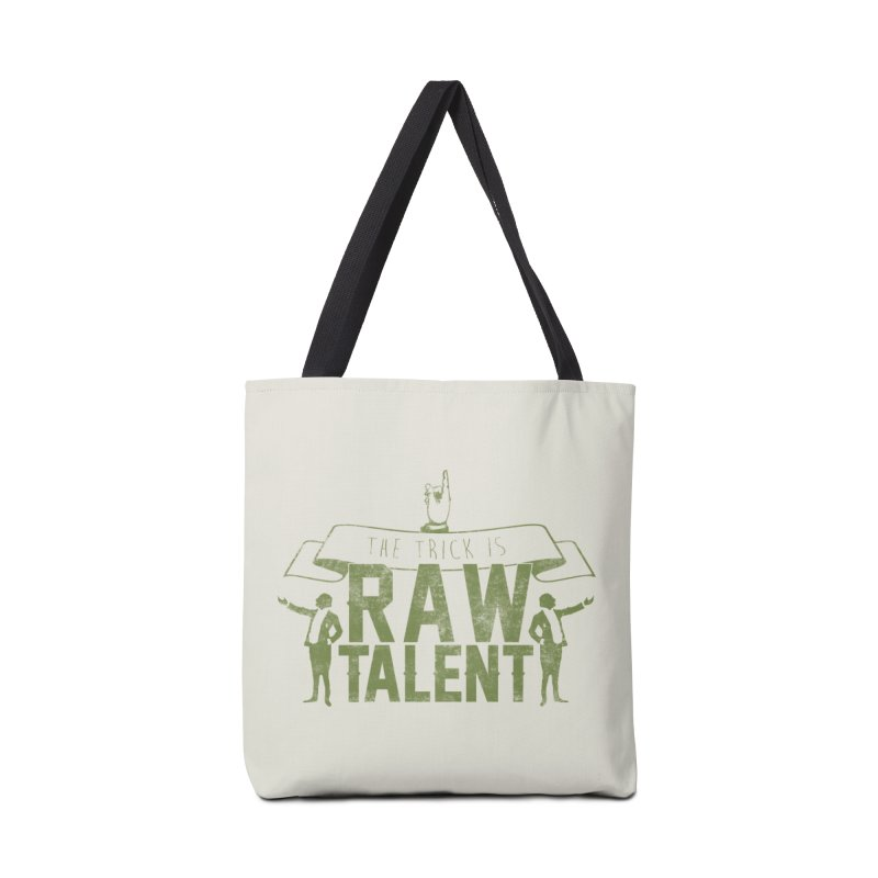 RAW TALENT Accessories Bag by Slothfox Apparel by Trenn