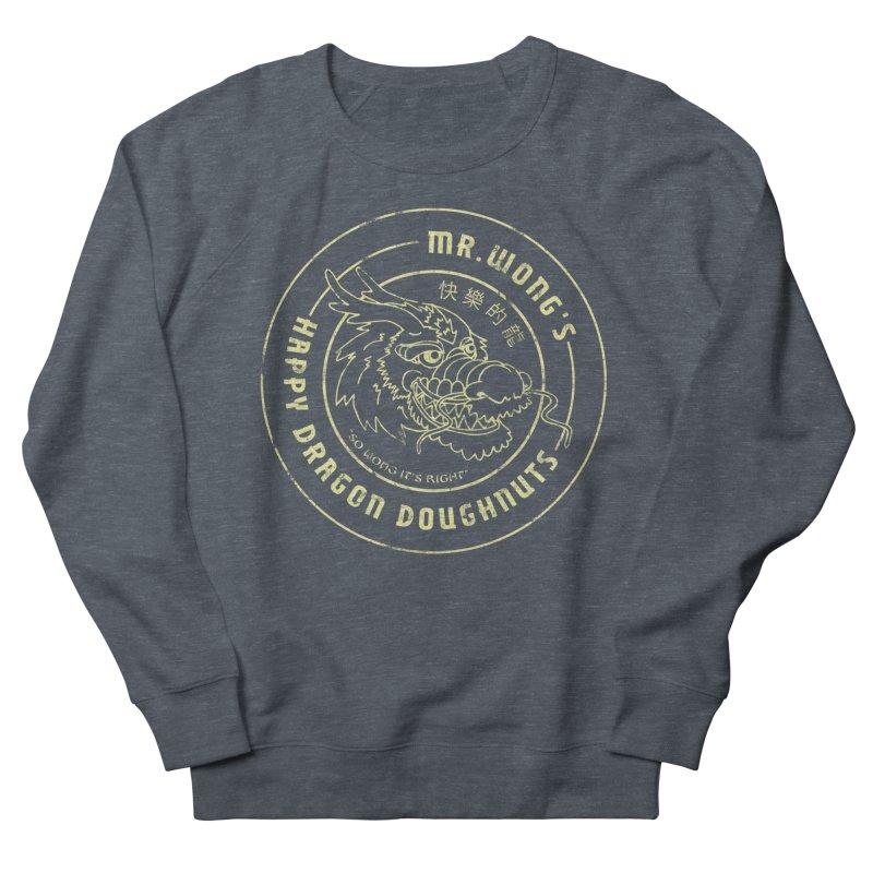 Mr. Wong's Happy Dragon Doughnuts Women's Sweatshirt by Slothfox Apparel by Trenn