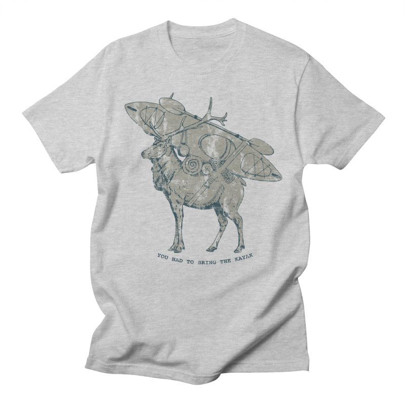 LIMITED EDITION*-- You Had to Bring the Kayak- Vintage Men's T-shirt by Slothfox Apparel by Trenn