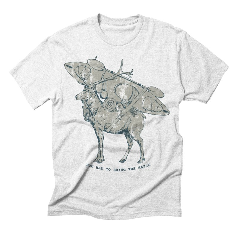LIMITED EDITION*-- You Had to Bring the Kayak- Vintage Men's Triblend T-shirt by Slothfox Apparel by Trenn