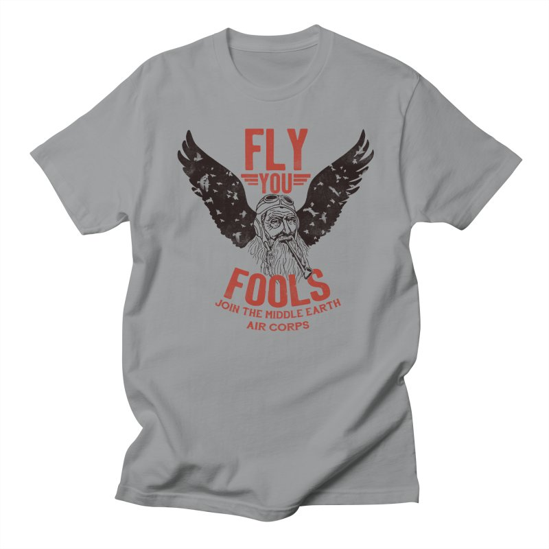 Middle Earth Air Corps Men's T-Shirt by Slothfox Apparel by Trenn
