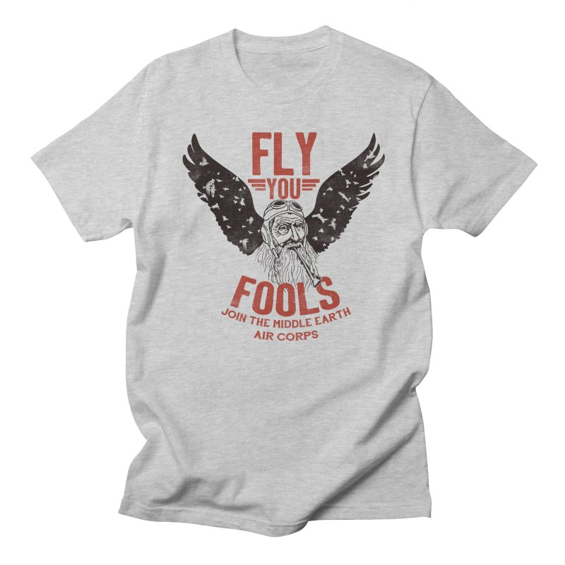 Middle Earth Air Corps Women's Unisex T-Shirt by Slothfox Apparel by Trenn