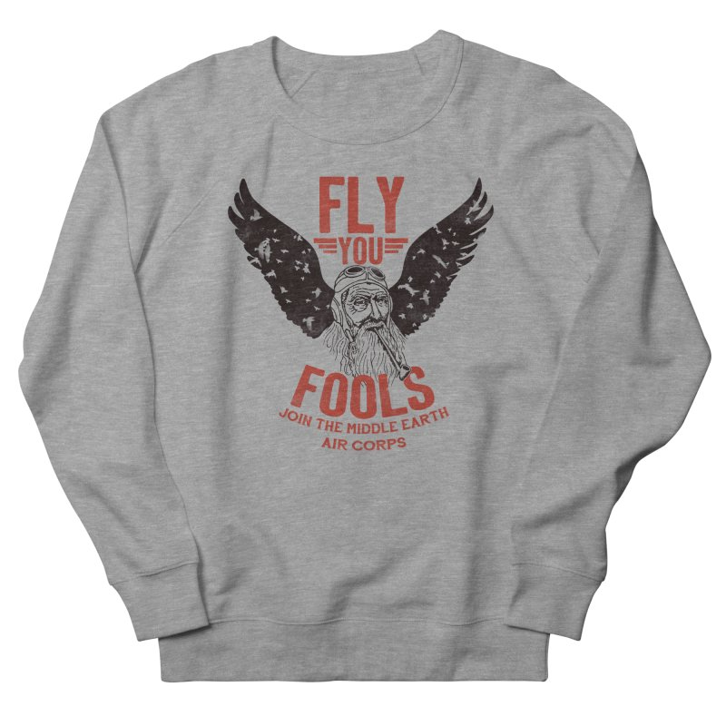 Middle Earth Air Corps Men's Sweatshirt by Slothfox Apparel by Trenn
