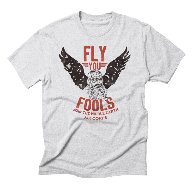 Middle Earth Air Corps Men's Triblend T-Shirt by Slothfox Apparel by Trenn