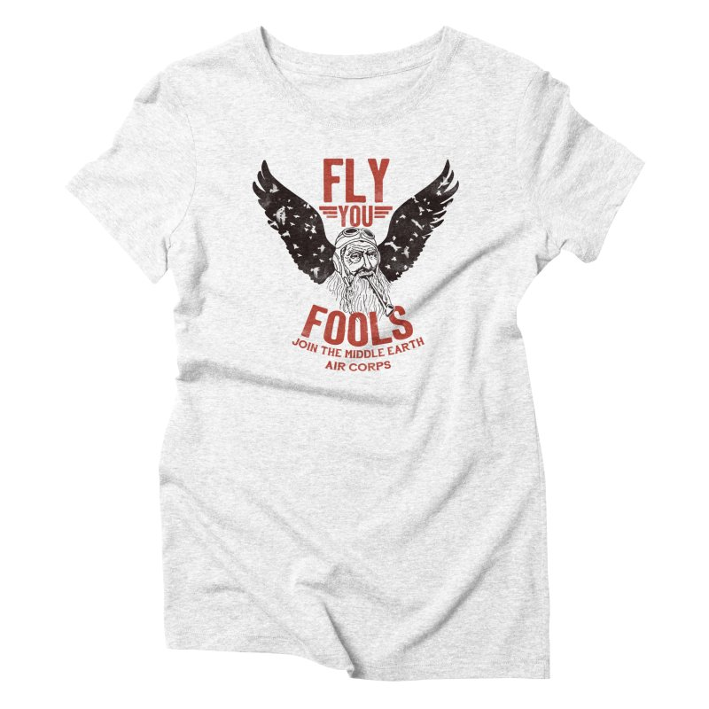 Middle Earth Air Corps Women's Triblend T-shirt by Slothfox Apparel by Trenn