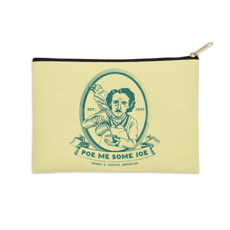 Poe Me Some Joe Accessories Zip Pouch by Slothfox Apparel by Trenn