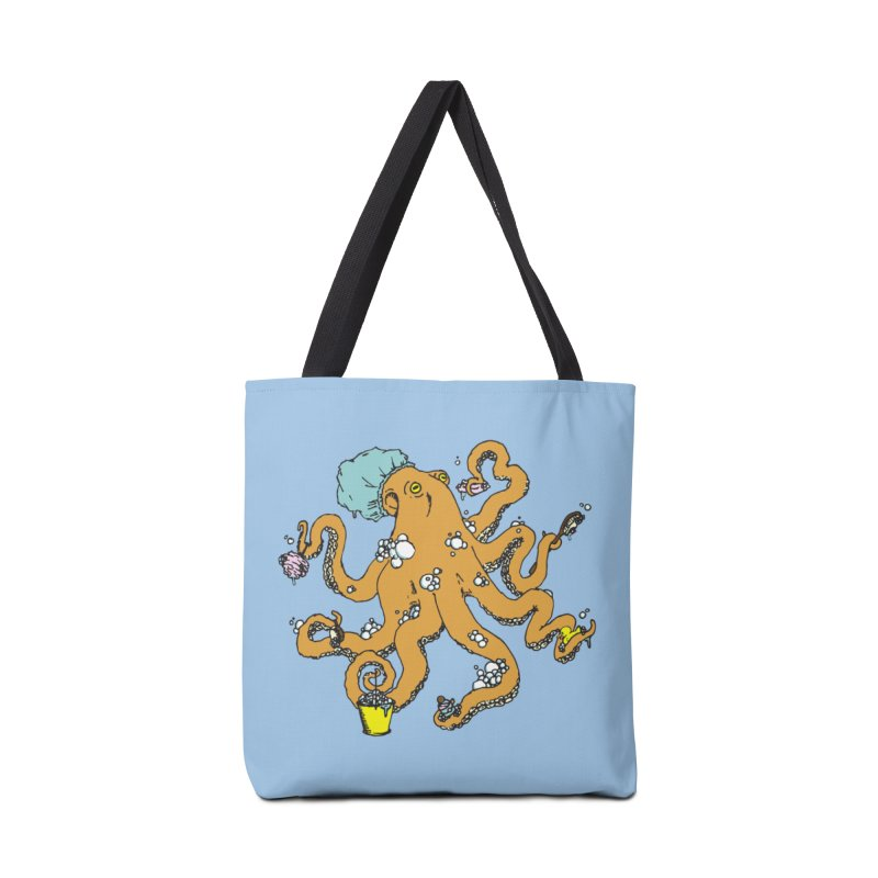 OCTO-WASH Accessories Bag by Slothfox Apparel by Trenn