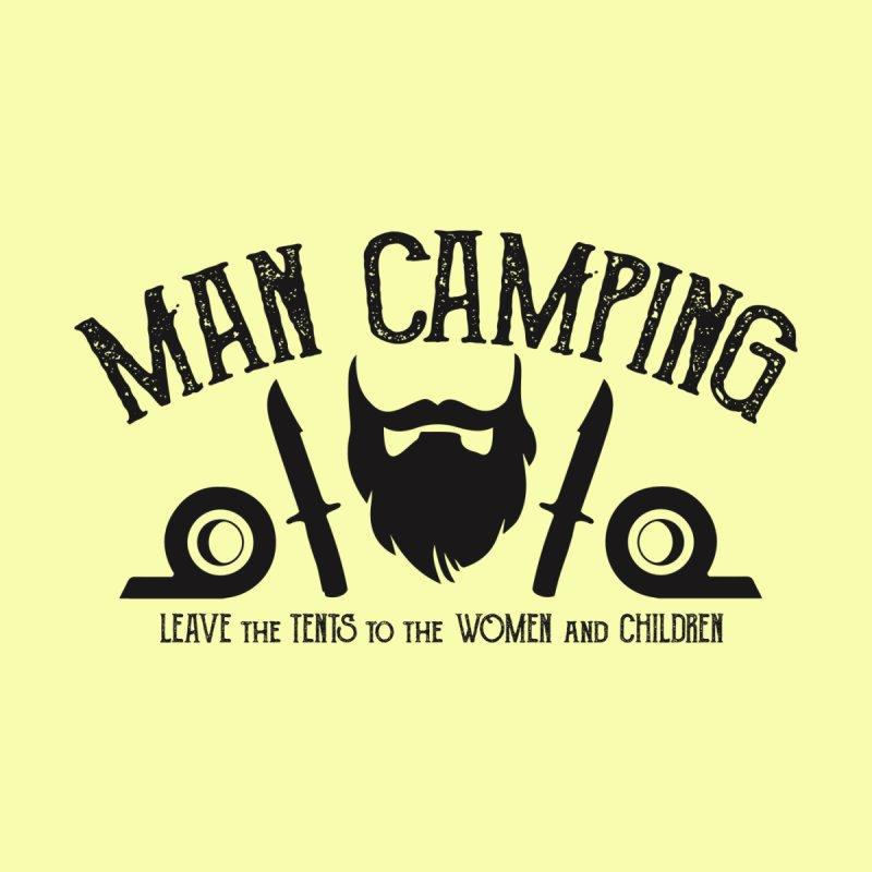 MAN CAMPING! by Slothfox Apparel by Trenn