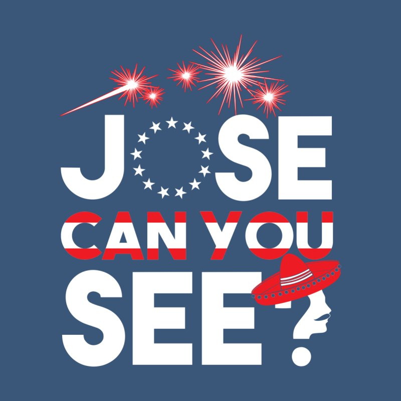 Jose Can You See? Men's Tank by Slothfox Apparel by Trenn