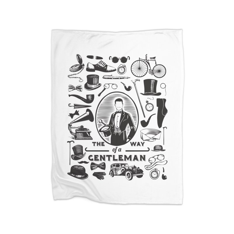 The Way of a Gentleman Home Blanket by Slothfox Apparel by Trenn