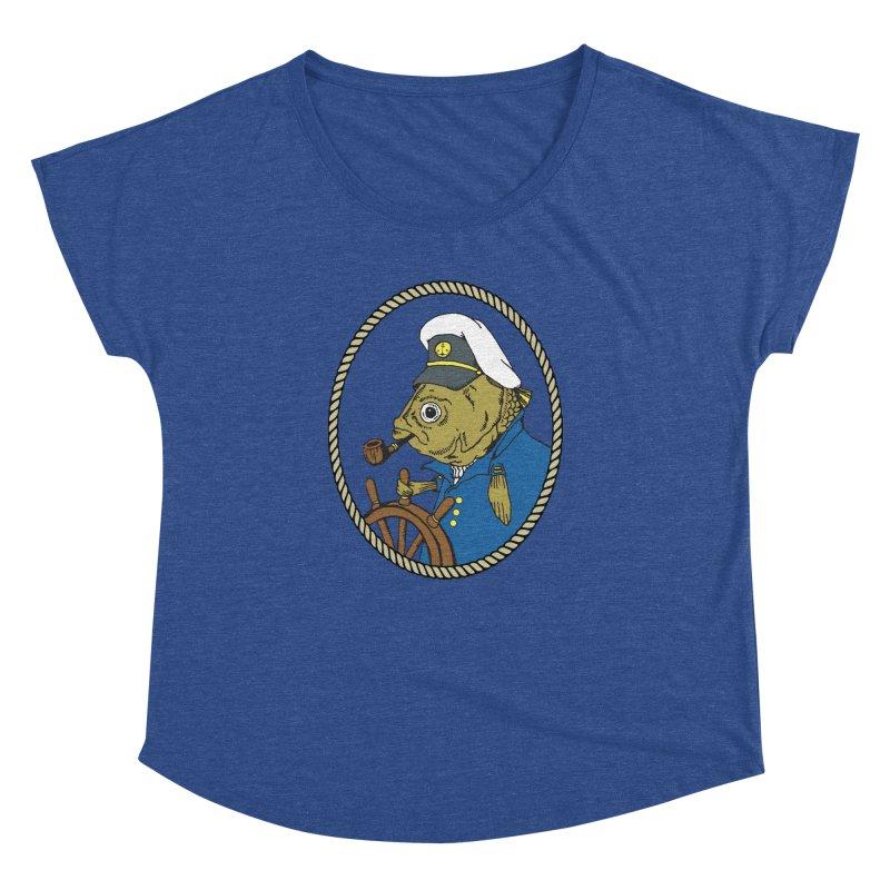 The Sea Captain Women's Dolman by Slothfox Apparel by Trenn